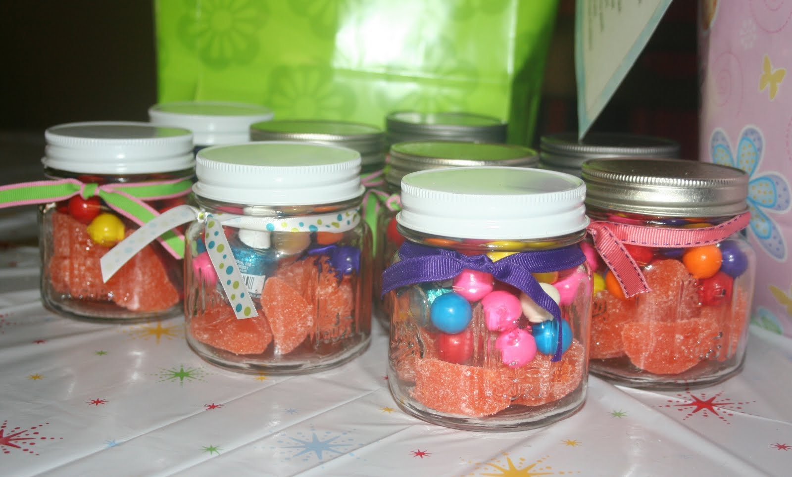 Mason Jar Party Favors Some Other Small Details