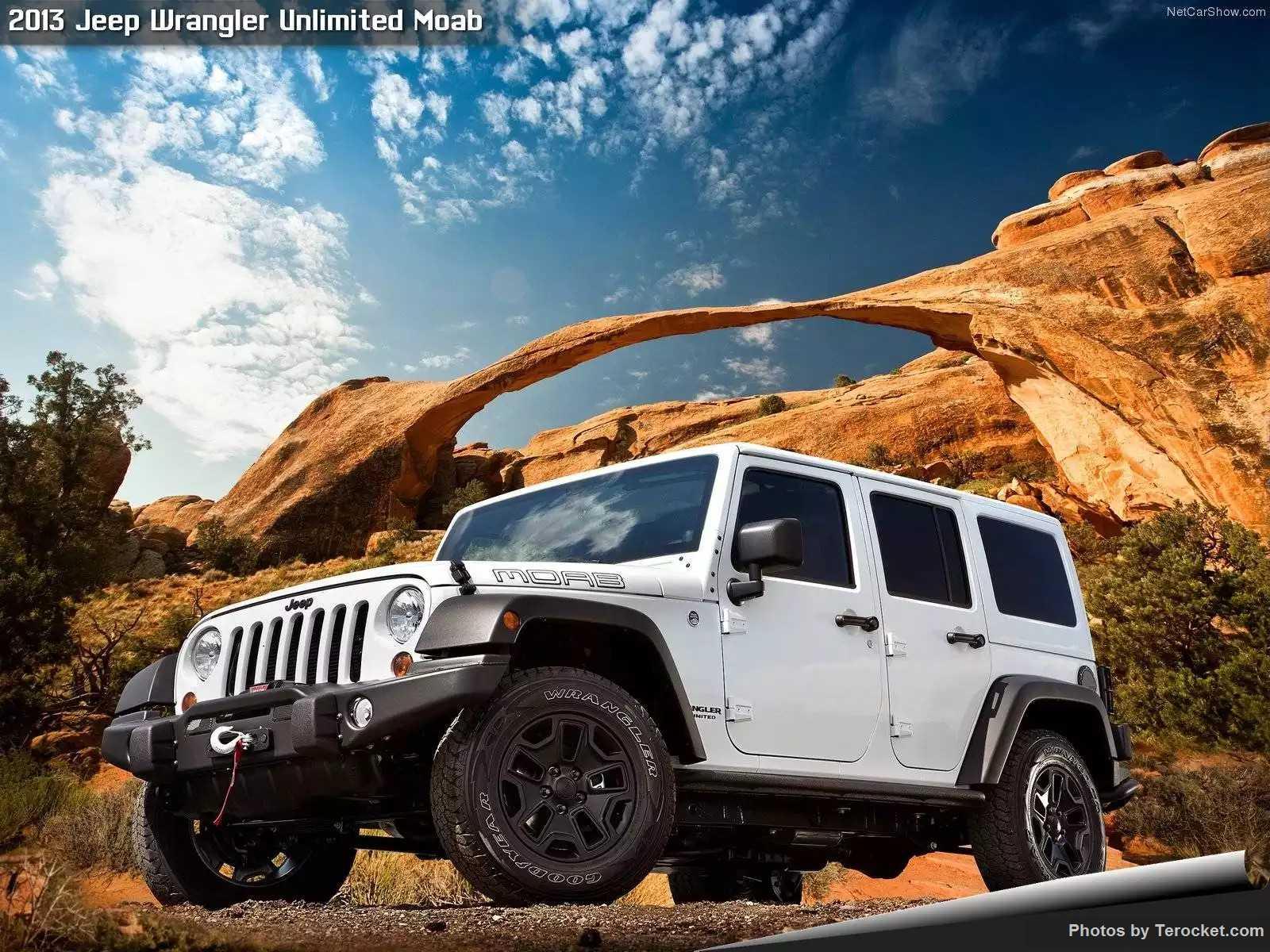 Hình ảnh xe ô tô Jeep Wrangler Unlimited Moab 2013 & nội ngoại thất