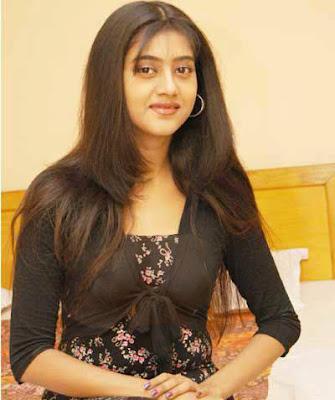 Barsha Priyadarshini Nude Boobs Inside Black Dress