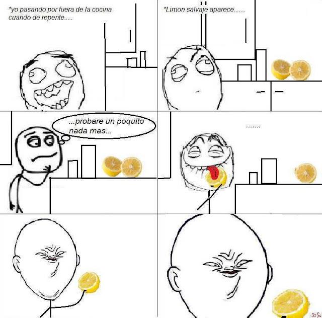 Memes - Cara de comer limón