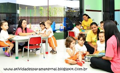 atividades para professoras de maternal