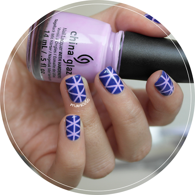 manicura geométrica nail tapes