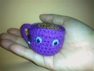 amigurumi, taza, café, crochet, ganchillo