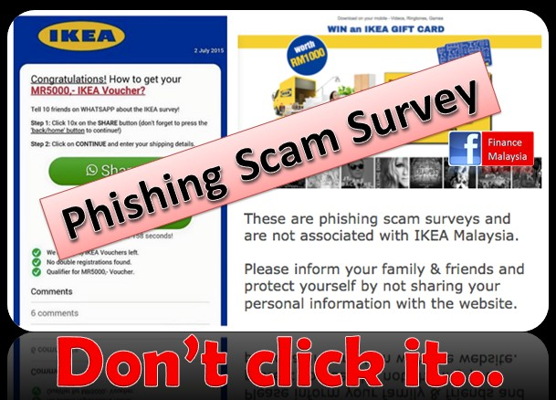 finance malaysia blogspot ikea malaysia whatspp survery phishing scam. Black Bedroom Furniture Sets. Home Design Ideas