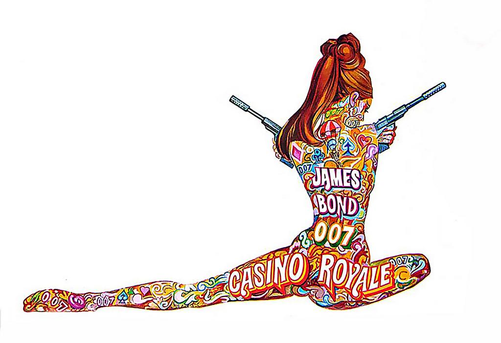 Robert McGinnis. Pin-Up Girls & Pulp Covers. Doctor Ojiplático. James Bond
