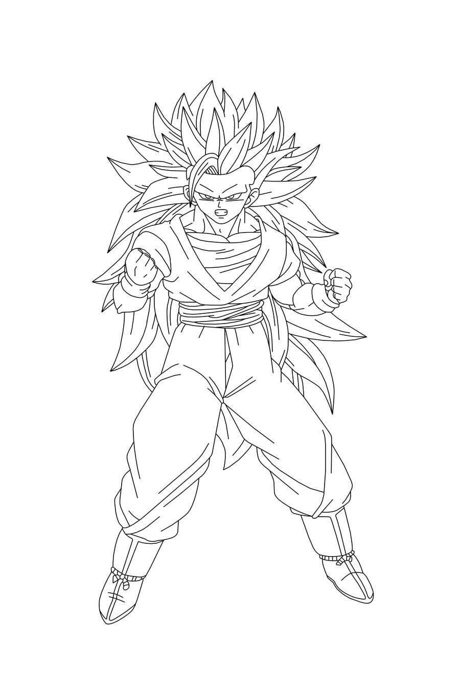 Krilin Dragon Ball Z moreover Goku Vs Naruto 217047031 besides Coloriage Pixel Art A Imprimer further Coloriage De Dragon Ball Z Sangoku Super Sayen 6 in addition Ultra Instinct Goku Lineart 711147788. on dbz coloring pages
