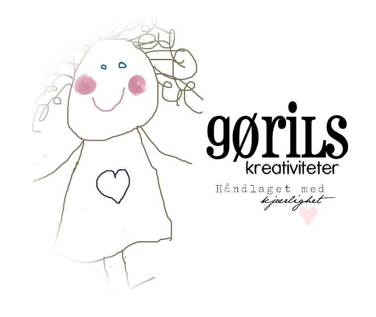 Gøril`s Kreativiteter - håndlaget med kjælighet