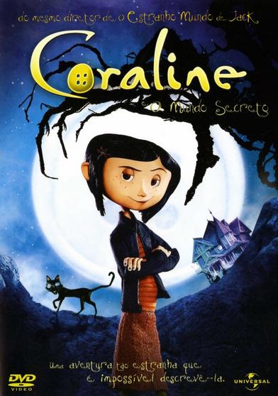 Filme Coraline e o Mundo Secreto Dublado AVI DVDRip