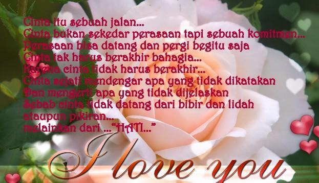 Kata-kata Romantis Cinta Terbaru Januari 2013 :