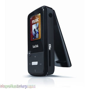 Harga SanDisk Sansa Clip Zip 4GB MP3 Player SDMX22-004G-A57K Terbaru 2012