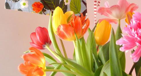 le vert des fleurs