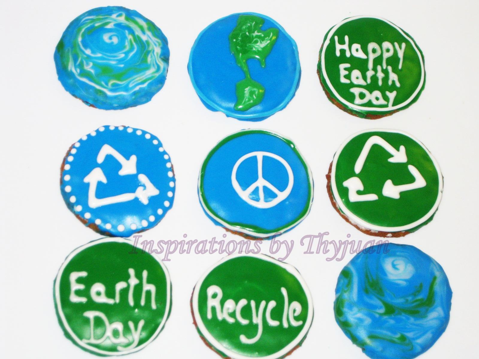Inspirations by thyjuan llc earth day cookies earth day cookies buycottarizona