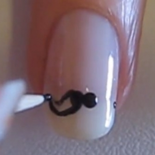 How-to-Make-Movember-Mustache-Nail-Art