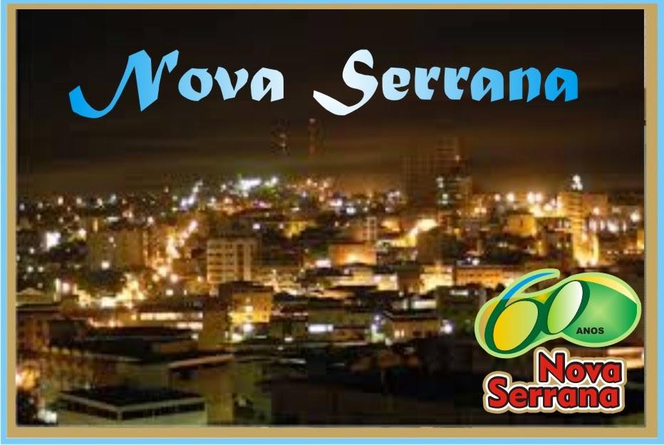 Nova Serrana Vista Noturna do Centro