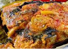 Resep masakan indonesia pepes ikan mas spesial (istimewa) praktis, mudah, sedap, nikmat, gurih