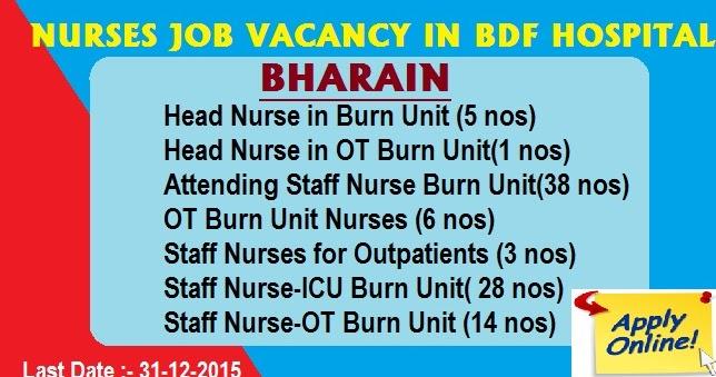 Nurses JOB Vacancy: E-RECRUITMENT NURSES IN BDF HOSPITAL ...