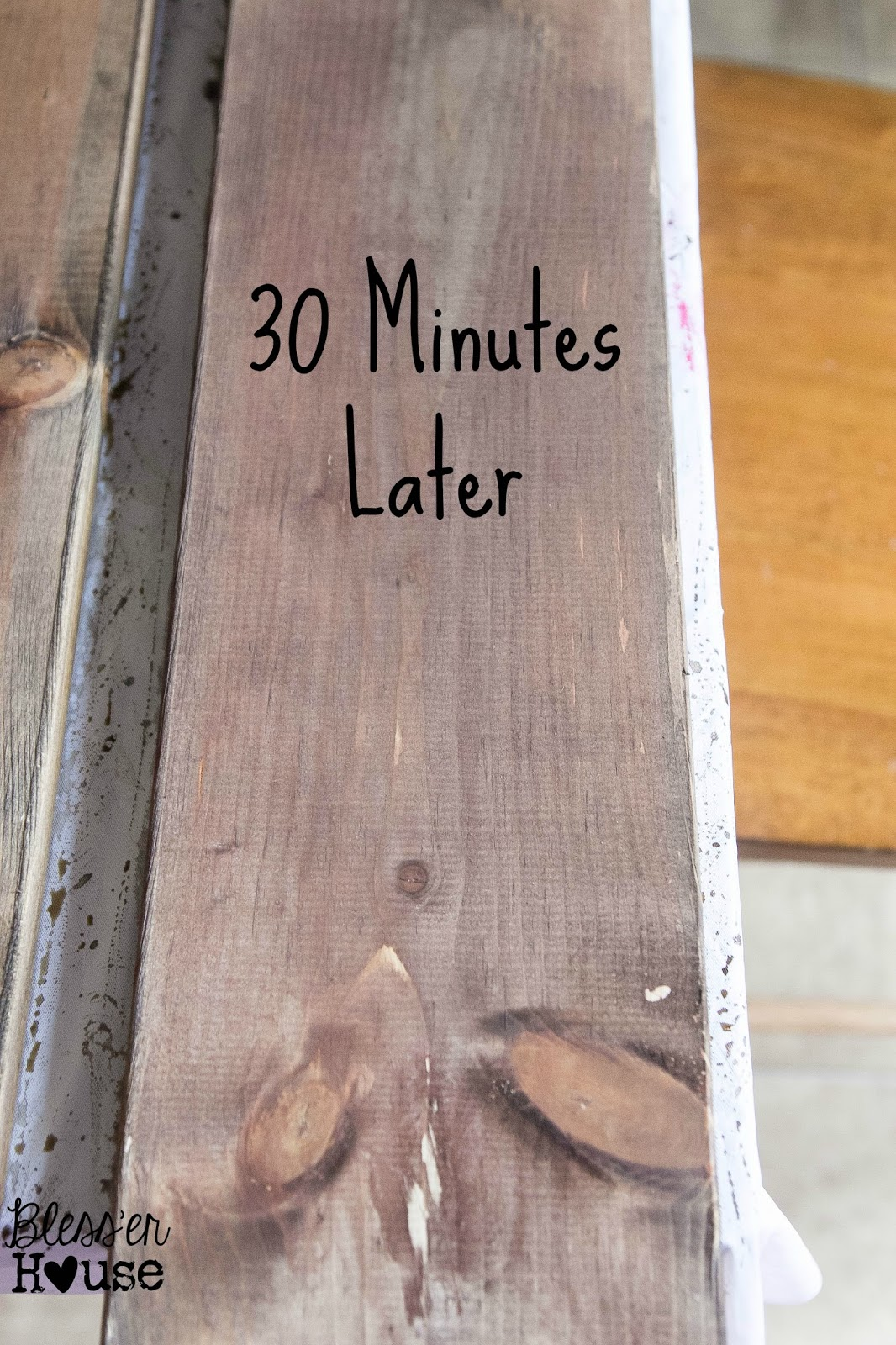 The Most Inexpensive All Natural Wood Stain Method Bless