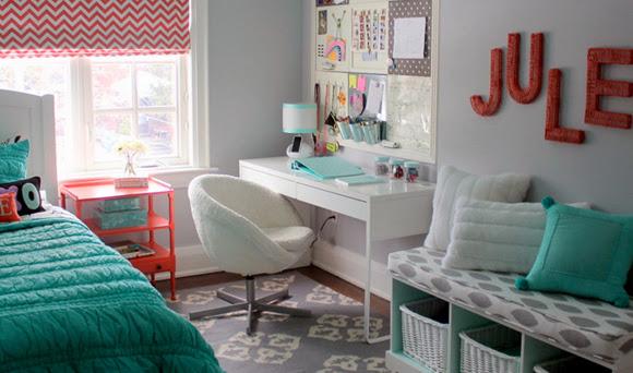 decoracao quarto azul turquesa e amarelo:Turquesa – by Tiffany! – Decor Salteado – Blog de Decoração e