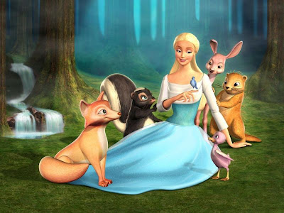 Odette and Fairy Friends pics to download free