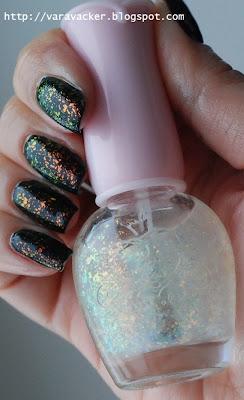 naglar, nails, nagellack, nail polish flakes, isadora