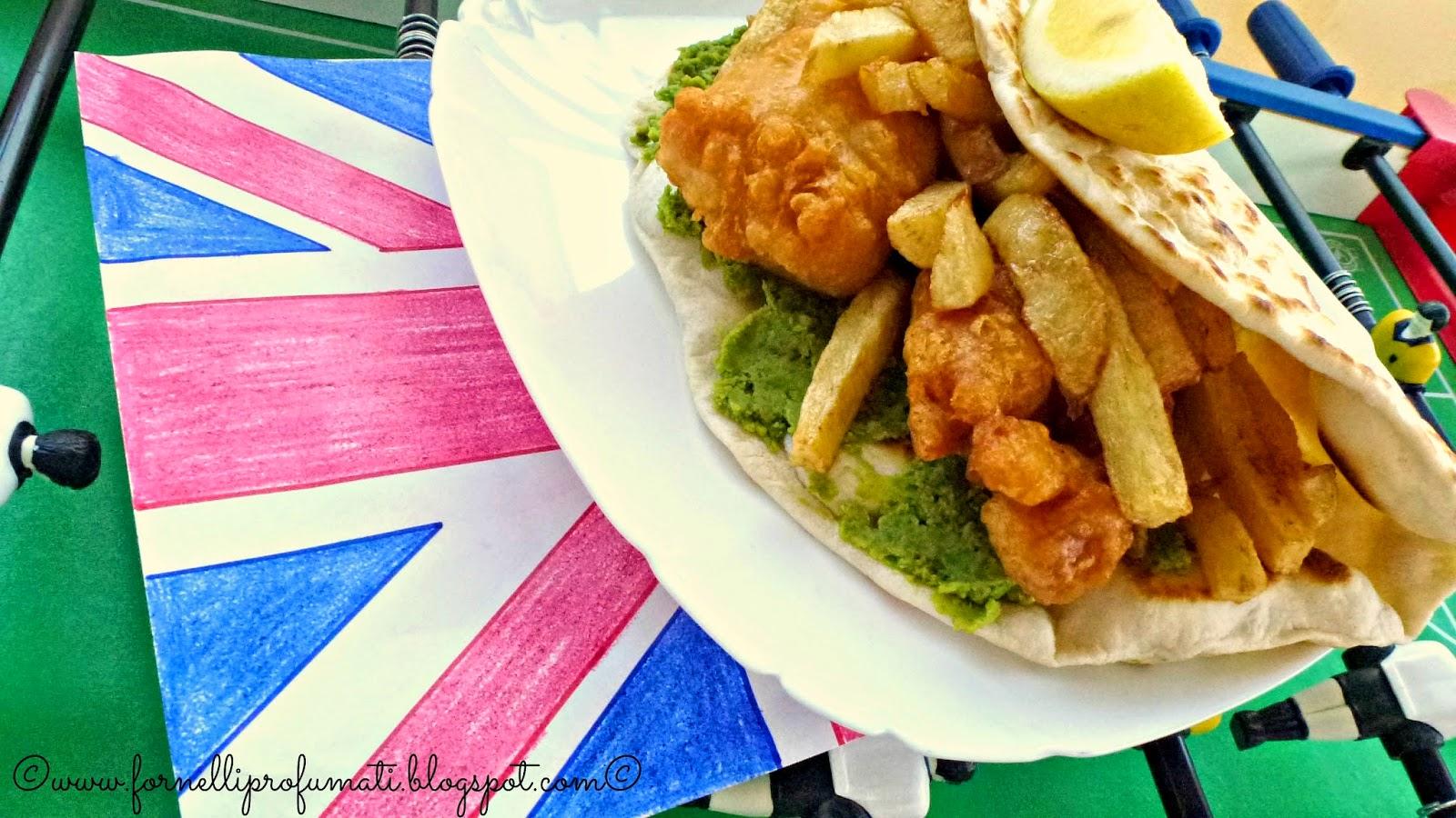 jubilee fish&chips flatbread per i piadamundial del mtc!