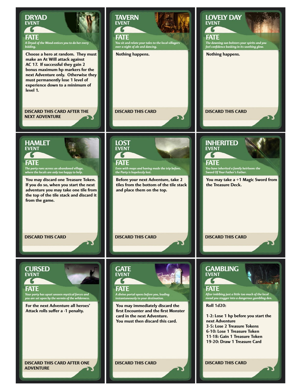 Hall or Nothing Productions Ltd: D&D Adventure System Campaigns ...