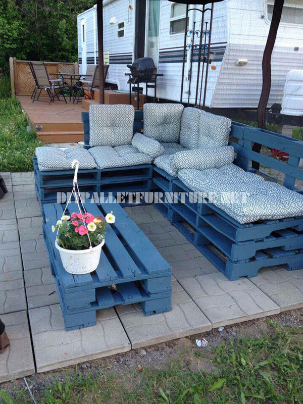 Muebles para el jard n con palets - Muebles de jardin ...