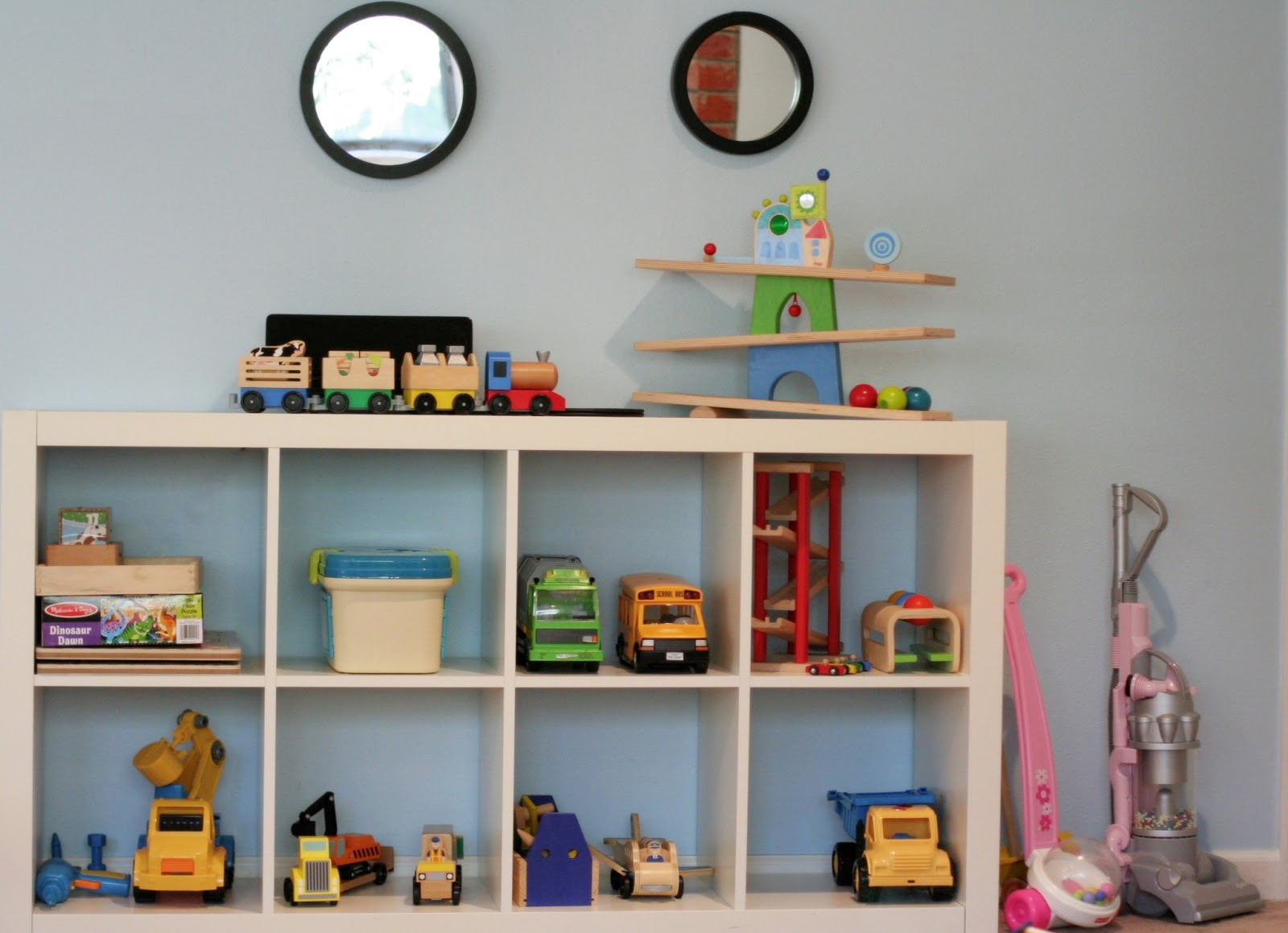 Kids Room With Toys playroom design: diy playroom with rock wall