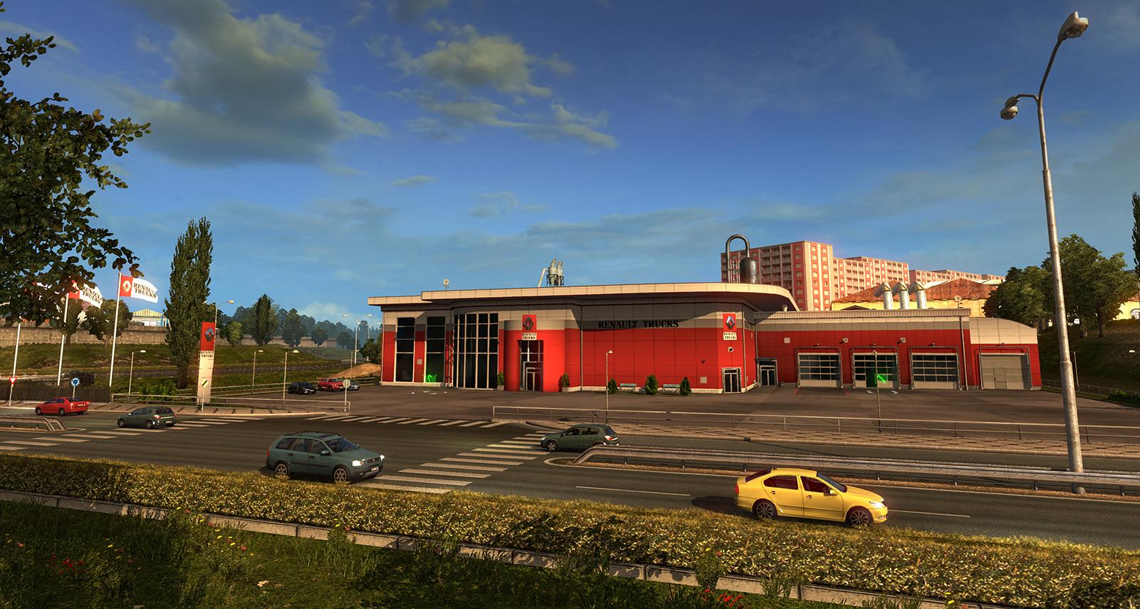 Euro truck simulator 2 mods daf xf 105 james s hislop pictures to pin -  Euro Truck Simulator 2 Http 1 Bp Blogspot Com F94wbh70rya Vl Big_renault Jpg