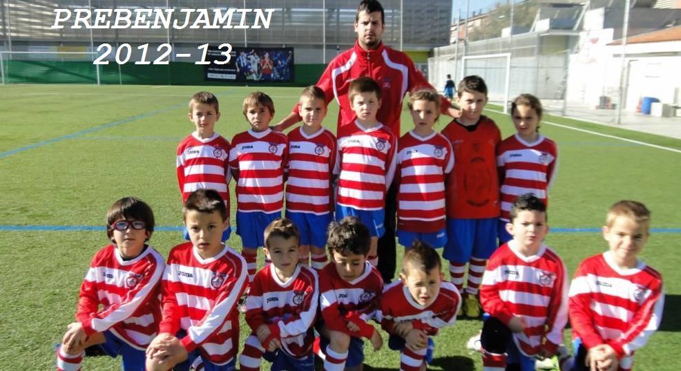 PREBENJAMIN C.D.CAN PARELLADA 2012-13