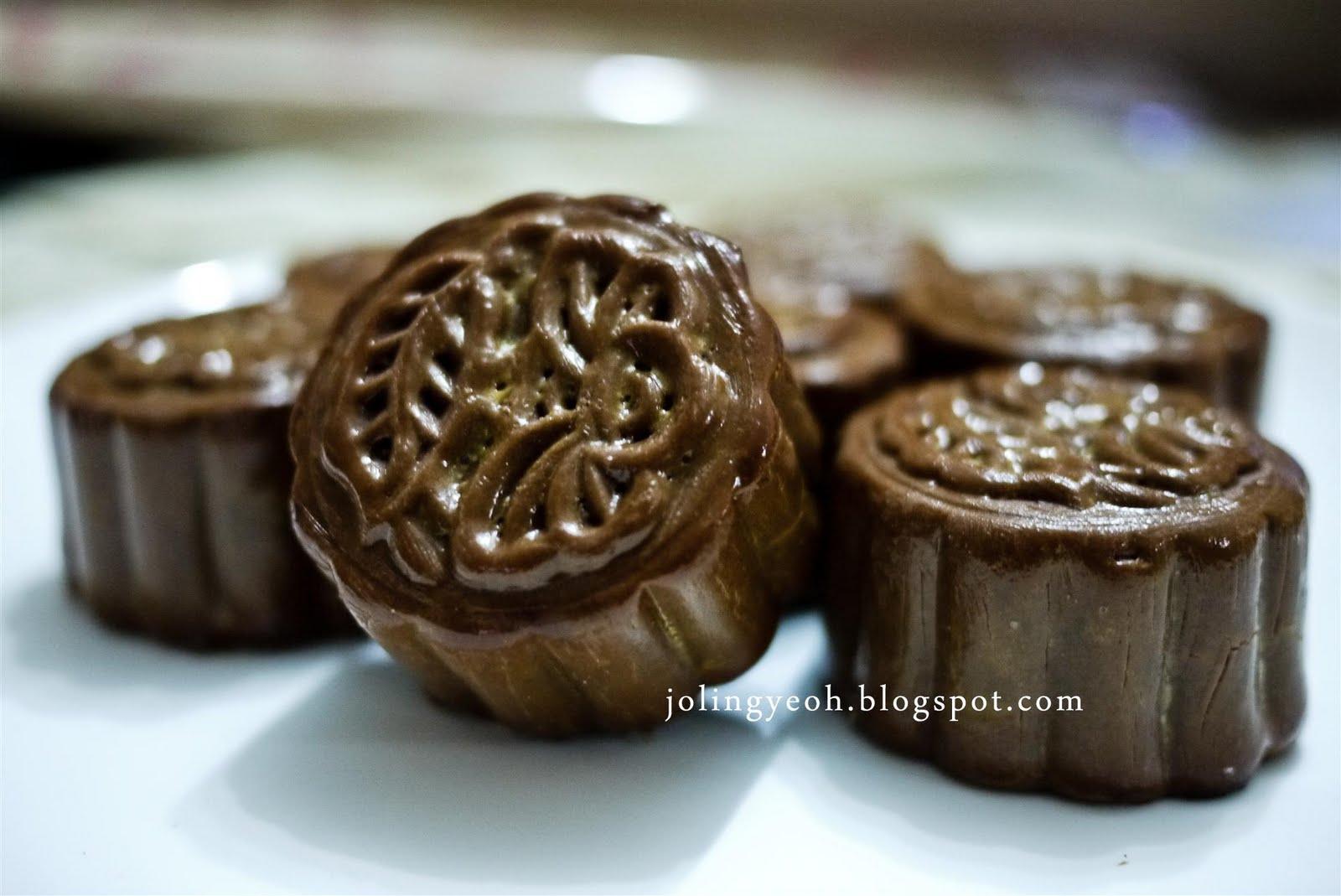 Jojo Baked Chocolate Mini Mooncake Recipe