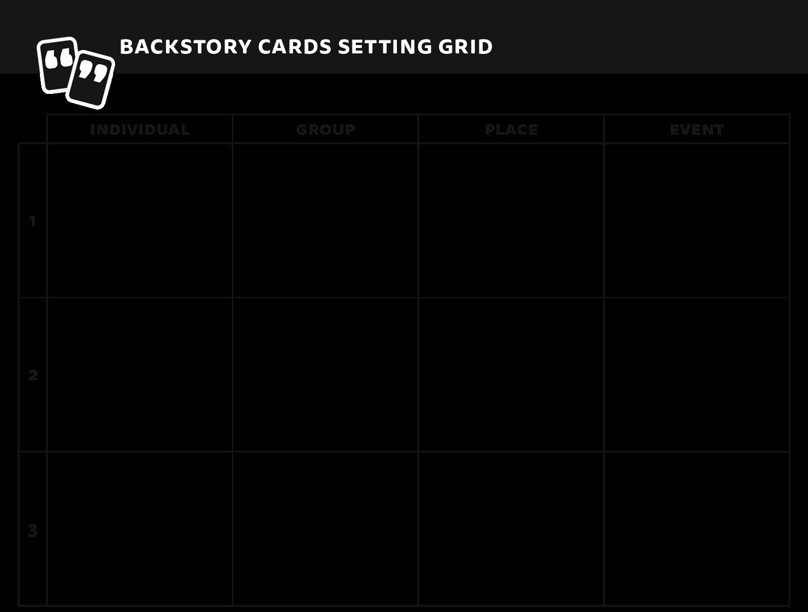Setting grid