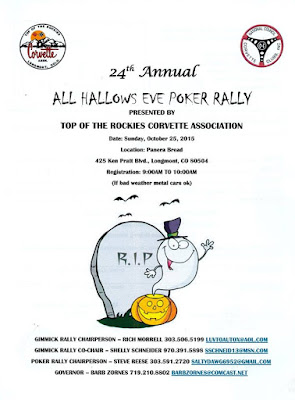 All Hallows Eve Poker Rally - Longmont, Colorado