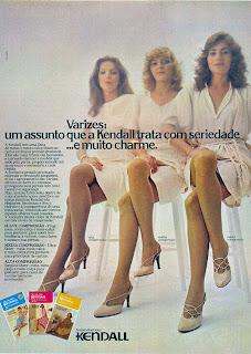 propaganda meias kendal - 1979. moda anos 70; propaganda anos 70; história da década de 70; reclames anos 70; brazil in the 70s; Oswaldo Hernandez