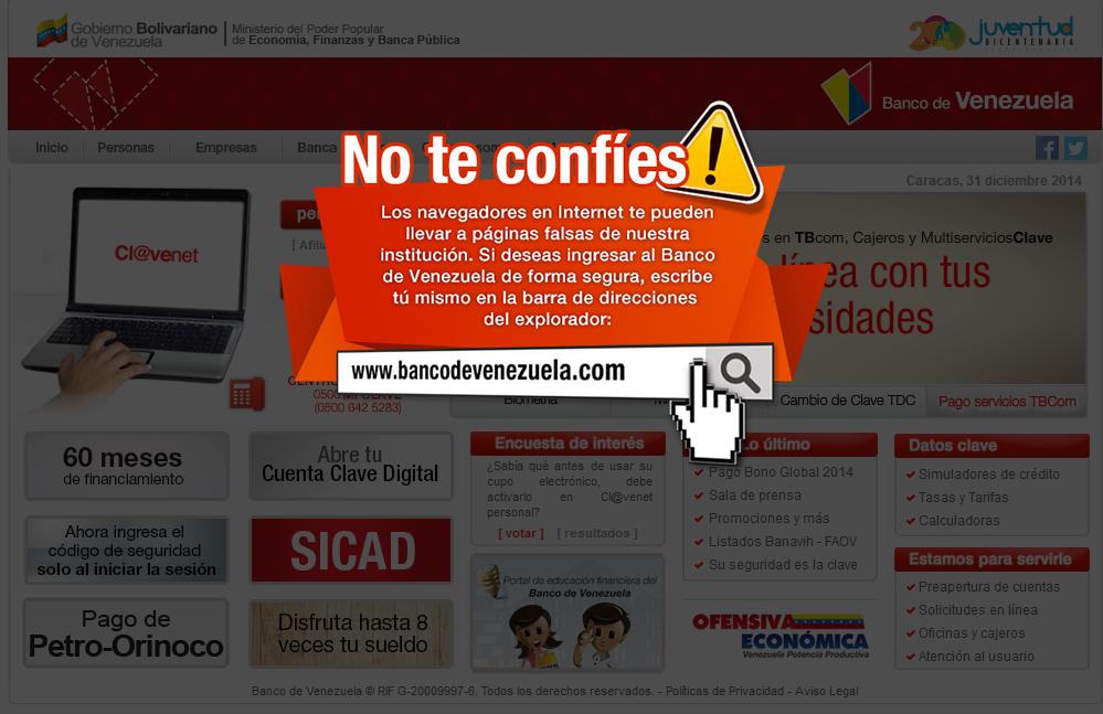 afiliacion en linea banco de venezuela dinero On banco venezuela en linea