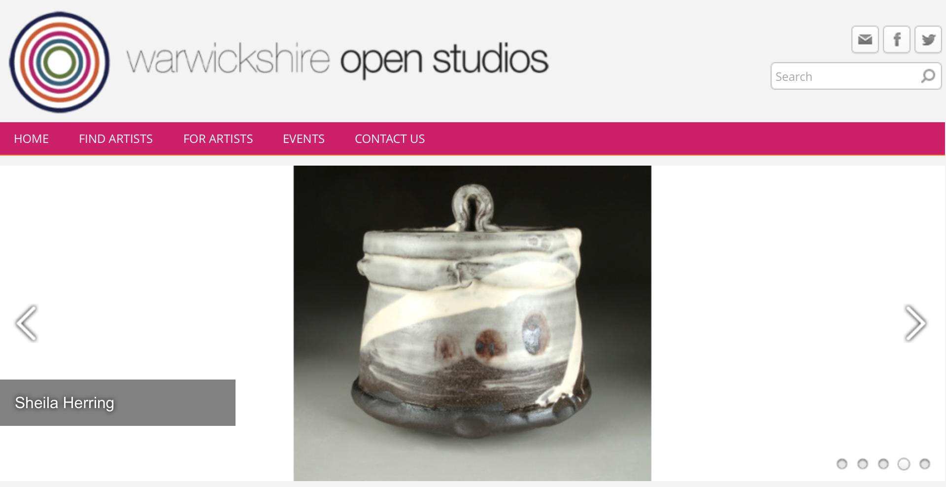 warwickshire open studios sheila herring Rhoda Bertz