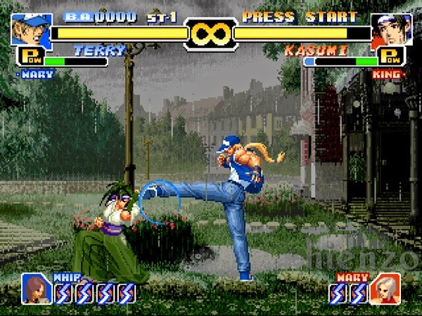 Terry vs Kasumi