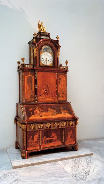 Bureau Cabinet, Neuwied am Rhein, 1776, David Roentgen