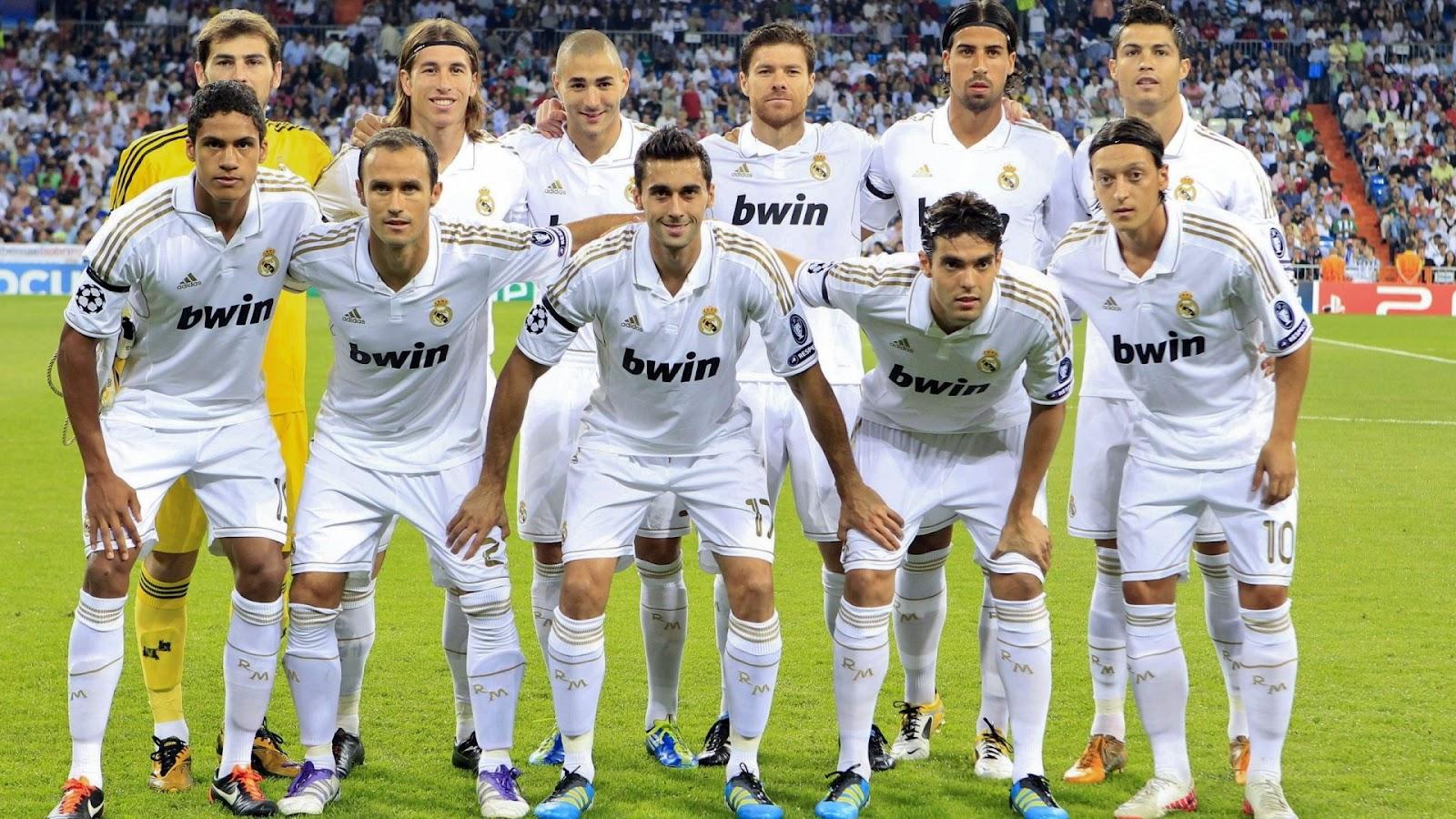 fotos de jugadores real madrid: