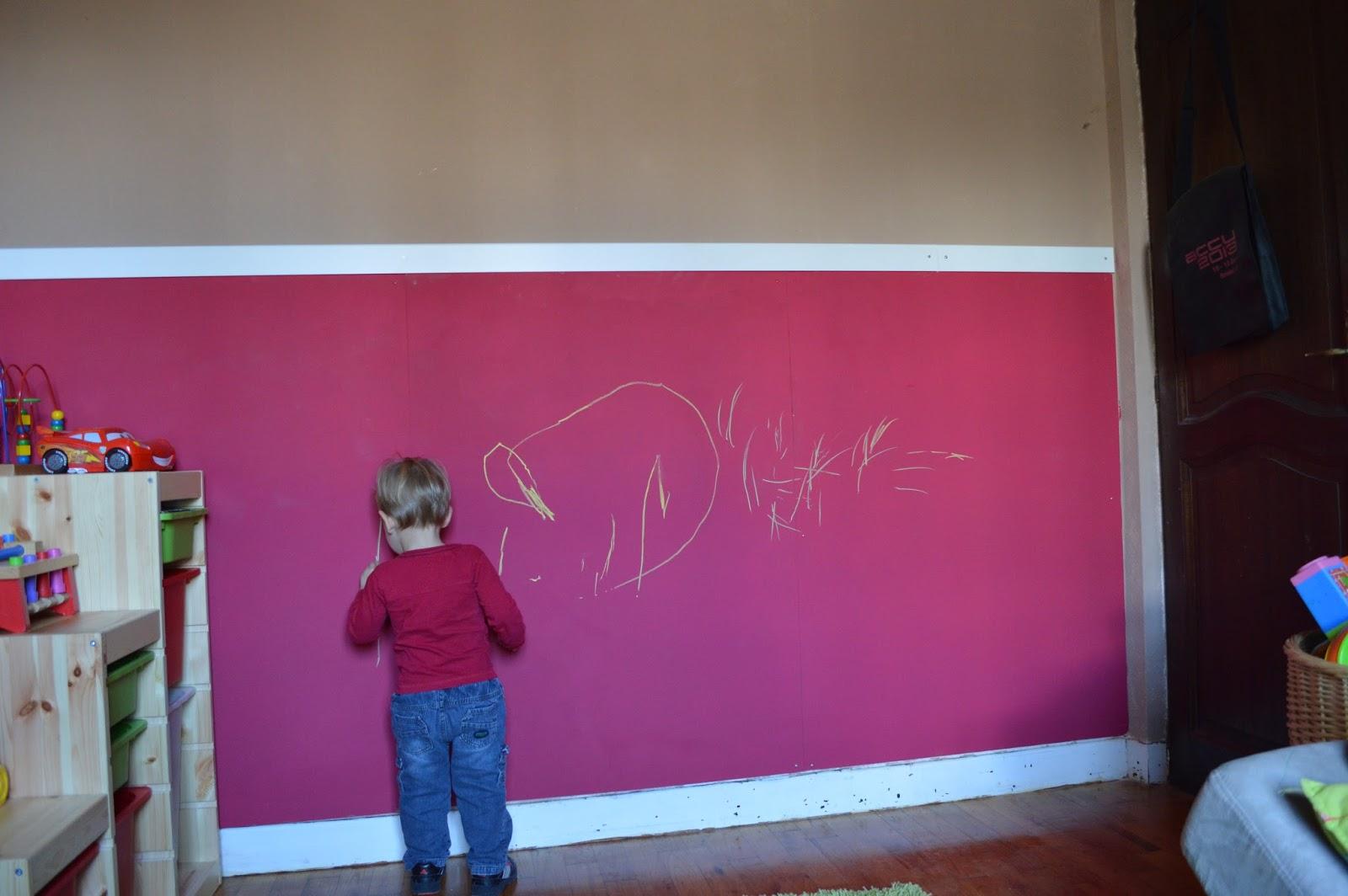 Educando a cuatro opciones para disimular las pintadas en - Pintar pared pizarra ...