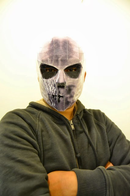 Papercraft Mask Army of Two Tyson Rios - Papercraft4u ...