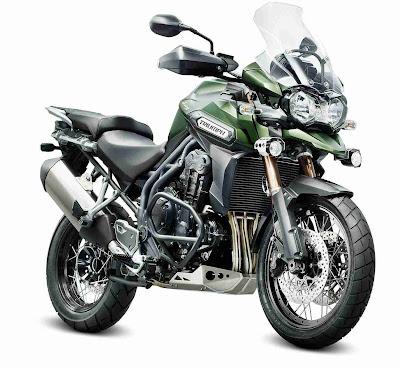 moto Triumph Explorer XC 2013