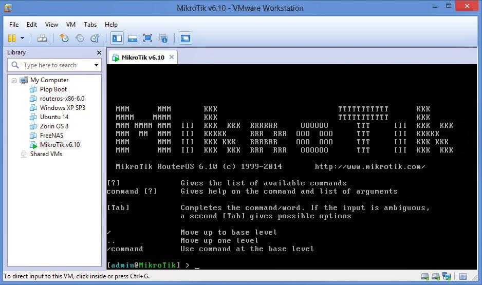 Download Mikrotik RouterOS v6.10 VMWare – Pusat Pengetahuan
