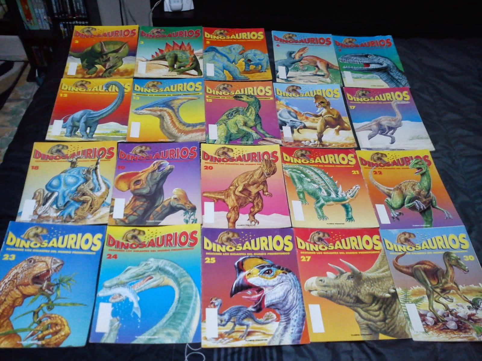 Revista Dinosaurios coleccion 58 fasciculos - Descargar