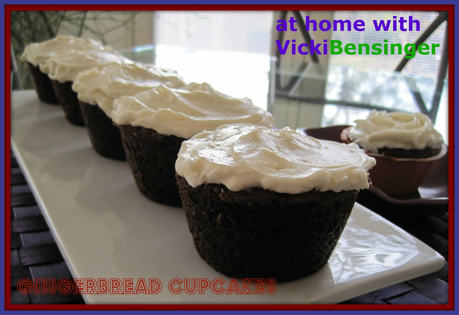 ... Gingerbread Cupcakes with Pumpkin Pudding and Cream Cheese Frosting