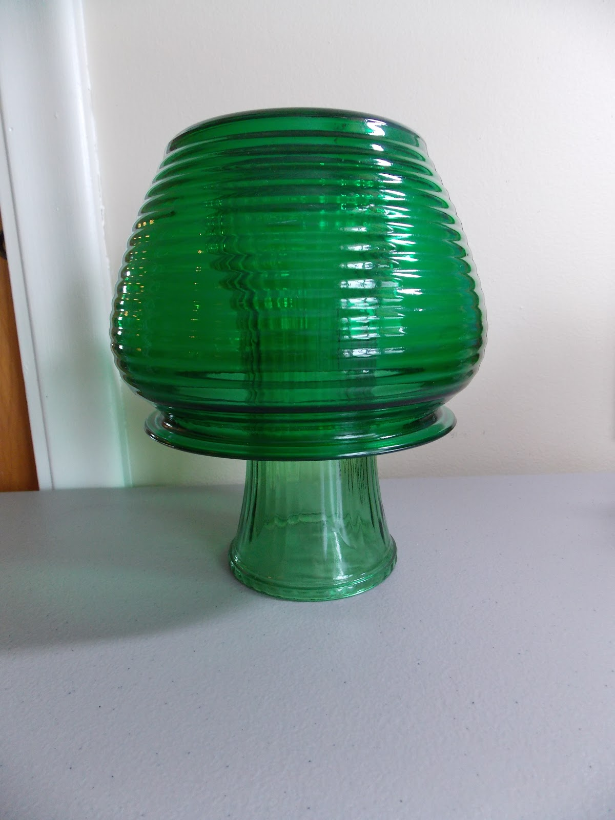 Keep Calm and KERRI On: DIY Glass Mushroom Garden Decor