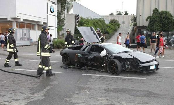 Marchettino The Only Official Website Lamborghini Murcielago Crashes