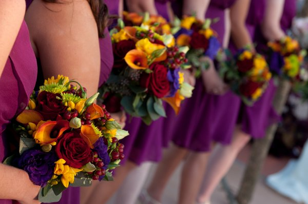 Purple Flowers For October Wedding : Adventures of a bride to be choosing wedding colors