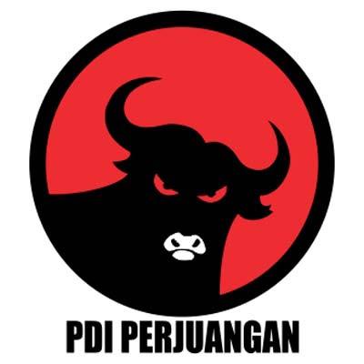 PDI Perjuangan Logo Vektor Partai