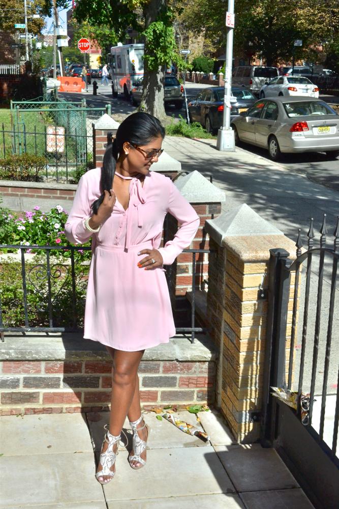 Astoria In Heels pretty in pink justfab bcbg